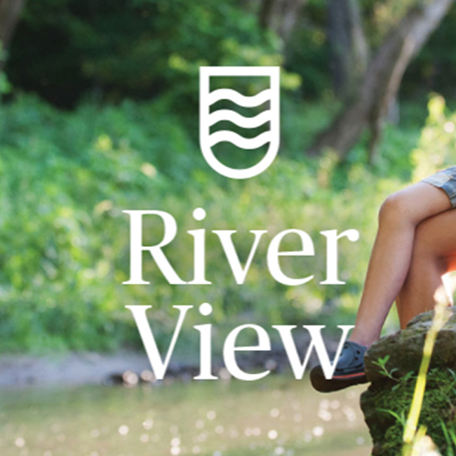 Bellvue estate river view logo