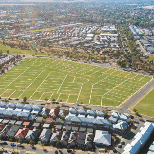 mayfield Estate landscape render