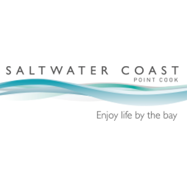 Saltwater Coast Point Cook Logo - Enjoy life by the bay