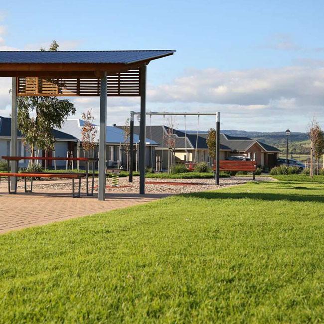 Seaford Meadows Estate landscape render