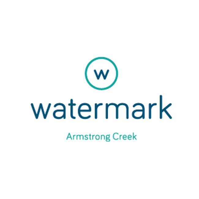 Watermark Armstrong Creek Logo